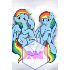 Дакимакура Rainbow Dash / Рейнбоу Деш 1